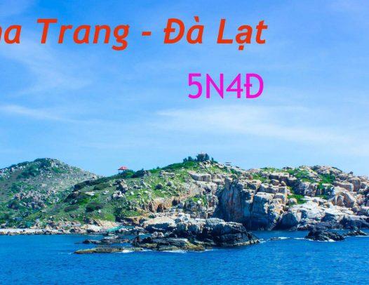 Nha Trang Da Lat 5 Ngay 4 Dem Relaxtravel